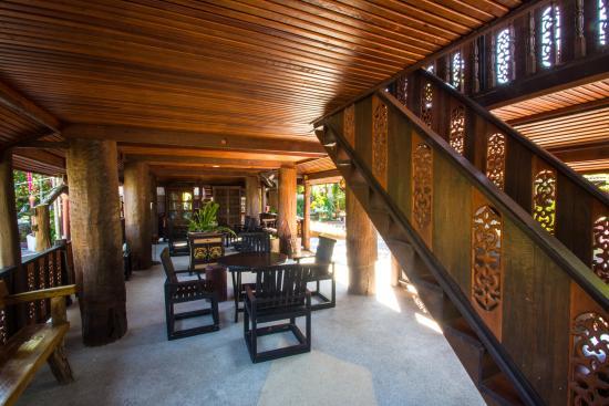 Saraphi, Tailandia: Breakfast Area