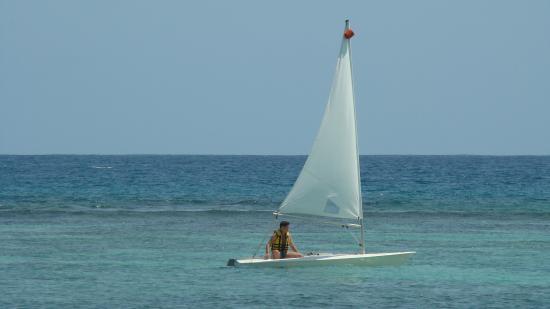 Victoria Beachcomber Resort & Spa: Активный отдых под парусом