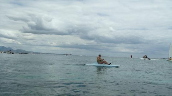 Victoria Beachcomber Resort & Spa: Разнообразие водных видов