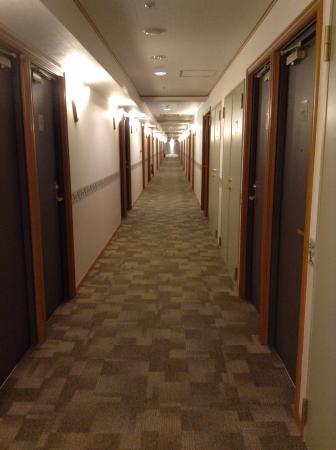 Toyoko Inn Akitaeki Higashiguchi: 廊下は長いです