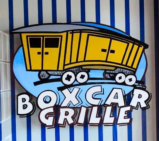 box car grille claremont nc  on door - Picture of Boxcar Grille, Statesville - TripAdvisor