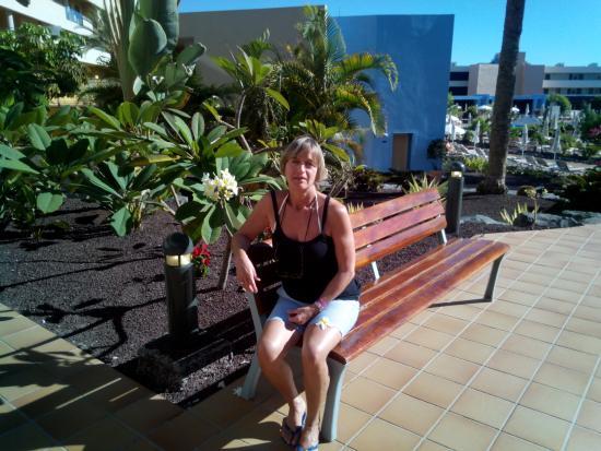 Iberostar Fuerteventura Park: passeggiata ... tra i fiori