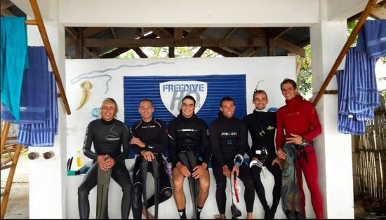 Freedive Hq Philippines : going training with thibault and co