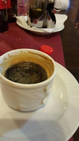 Vallirana, Hiszpania: Taza de cafe sin asa!!