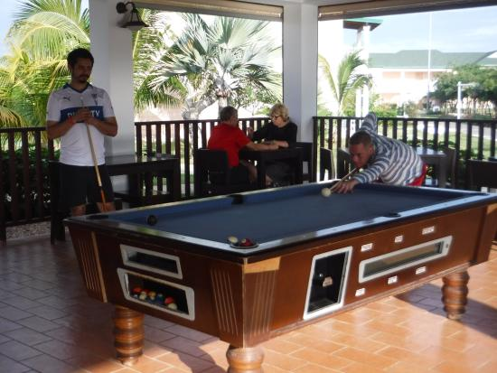 Pool Table Picture Of Ocean Varadero El Patriarca Varadero - El pool table