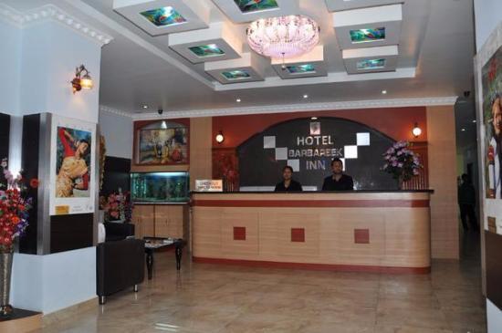 Hotel Barbareek : Reception
