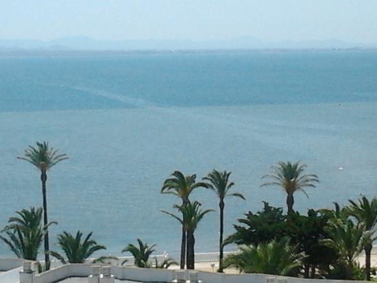 Mar menor bild fr n aparthotel londres la manga del mar for Apparthotel londres
