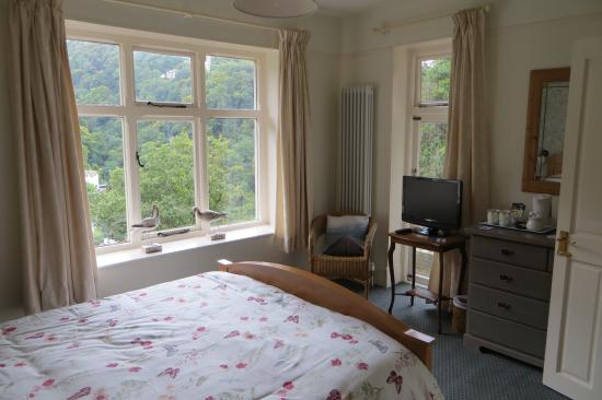 Countisbury Lodge: Sandpiper B&B room