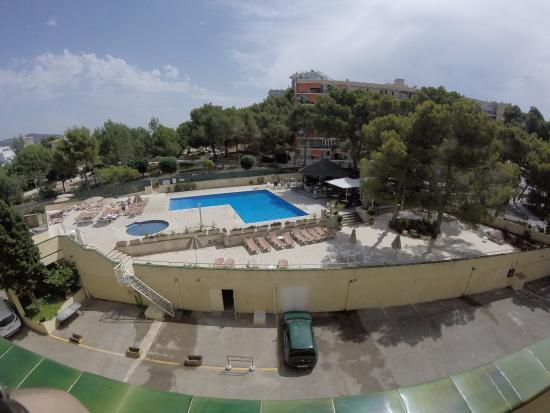 Apartamentos Inn: Vista dal balcone