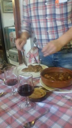 Vila-rodona, Spanyol: Restaurant El Vinyet