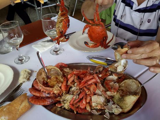 Vilaboa, Hiszpania: mismo dia mariscada para 2