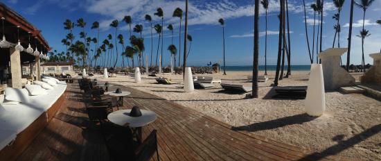 Paradisus Palma Real Golf Spa Resort Terre Du Gabi Beach Bar