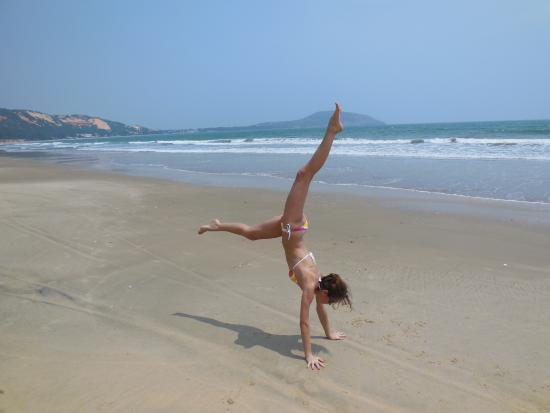 Pandanus Resort: Пляж