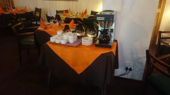 Karula Hotel: Coffee corner