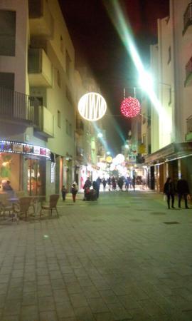 Deco De Noel 2015 A Roses Espagne Picture Of Restaurant Roc Fort