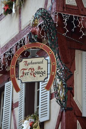Le restaurant photo de le fer rouge colmar tripadvisor - Fer rouge colmar ...