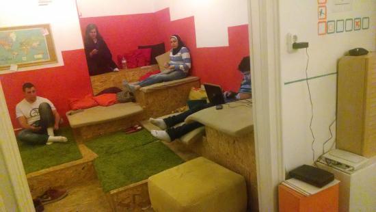 Home Plus Hostel : espaço coletivo