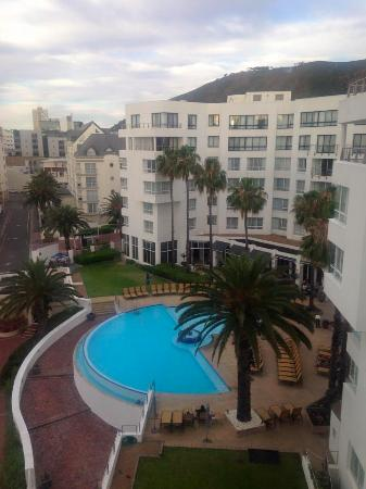 Bantry Bay, Afrika Selatan: View of the pool