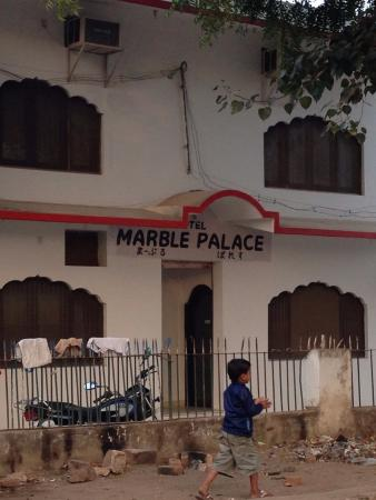 Hotel Marble Palace: Вход