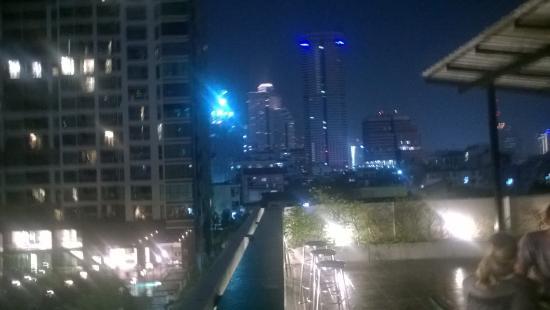WE Bangkok Hostel: vista do terraço do hostel
