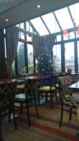 The Railway Vue Pub: The festive conservatory