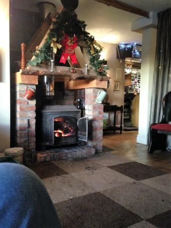 Martley, UK: fire