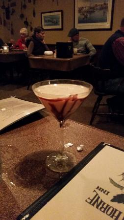 Labadie, มิสซูรี่: How pretty! The chocolate martini
