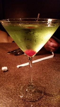 Labadie, มิสซูรี่: Great green apple martini