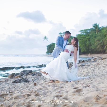 Our wedding at Villa Playa Maria was picture perfect