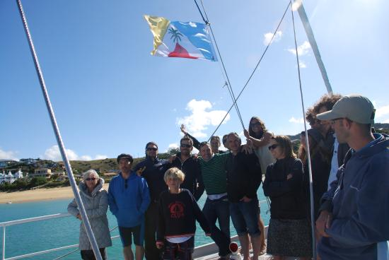 Gourmet Sailing : Group Pic