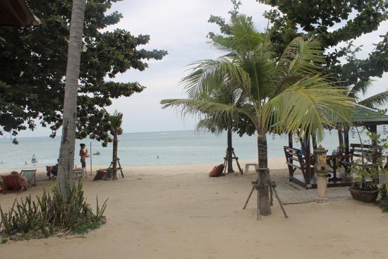 Lamai Coconut Beach Resort: пляж