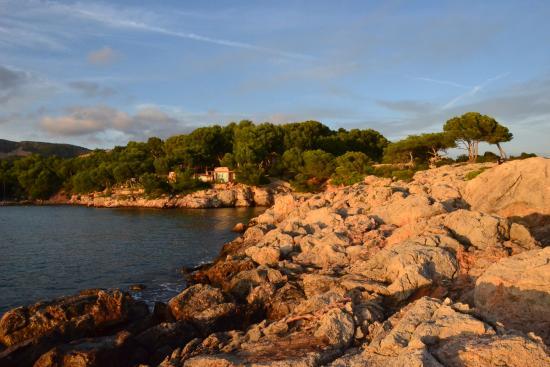 Costa d'en Blanes, España: view from foreland