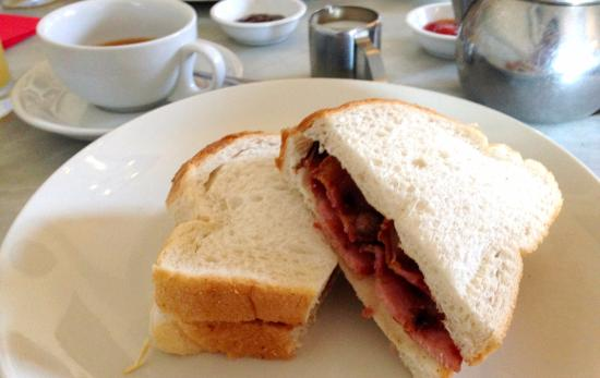 Jakes: Bacon sandwich
