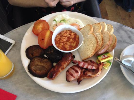 Jakes: Full english breakfast