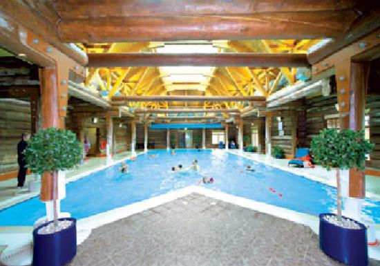Piperdam Golf & Leisure Resort: lovely indoor pool with small sauna and steam room