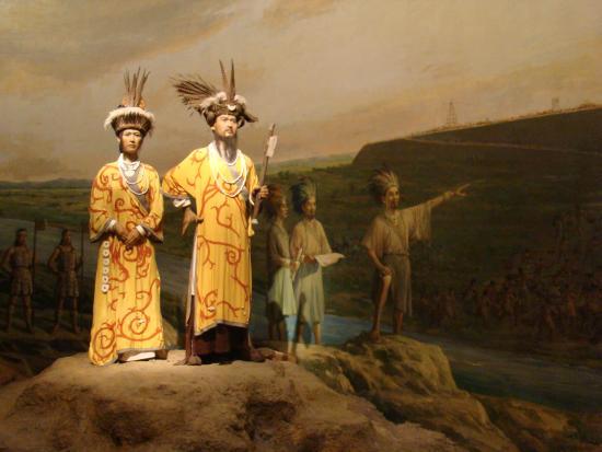 Liangzhu Museum: Interiores