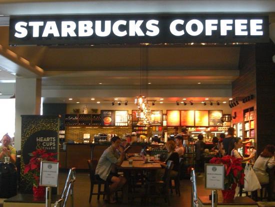 Starbucks Coffee Ala Moana Hotel, 店舗
