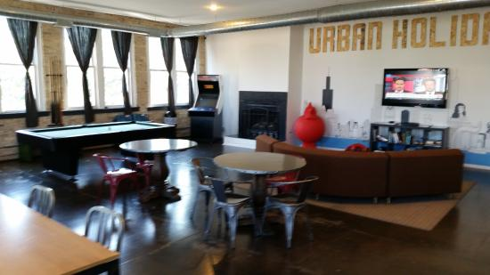 Urban Holiday Lofts: Common area