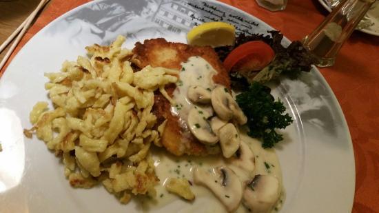 Calw, Tyskland: Schnitzel