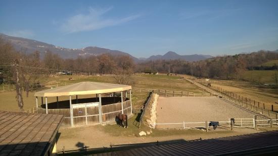 Palazzago, Włochy: La vista dalla sala
