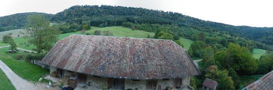 Le Morimont : Une des vues de l'étage