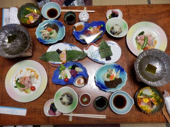 Yunohama Onsen: 夜ご飯