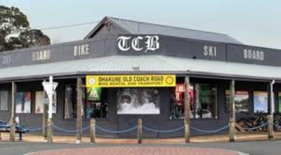 TCB Ski Board and Bike
