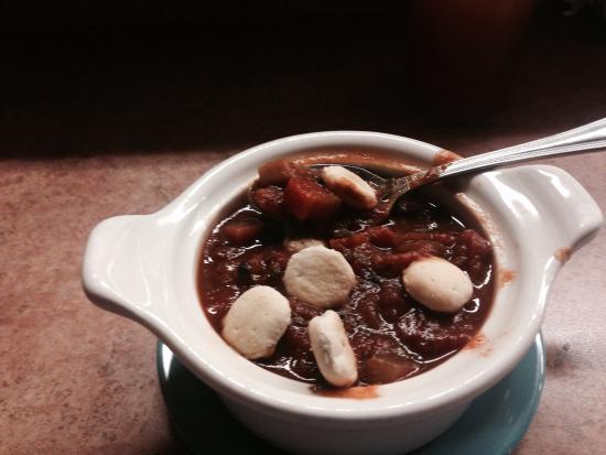 Grumpy's - Chunky Tomato & Basil Soup