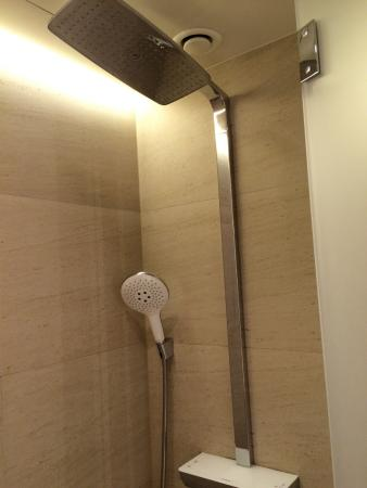 double shower head and rain effect - Picture of The Hotel - Brussels ...