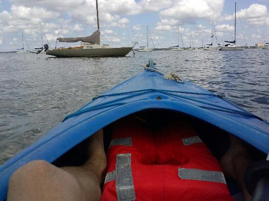 Willard Beach: Kajac