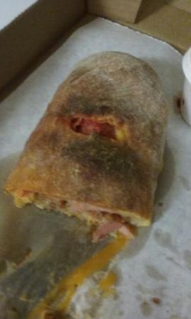Genovese's Italian Cafe: Meat Stromboli