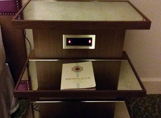 outlets with USB ports in both nightstands Picture of Grand