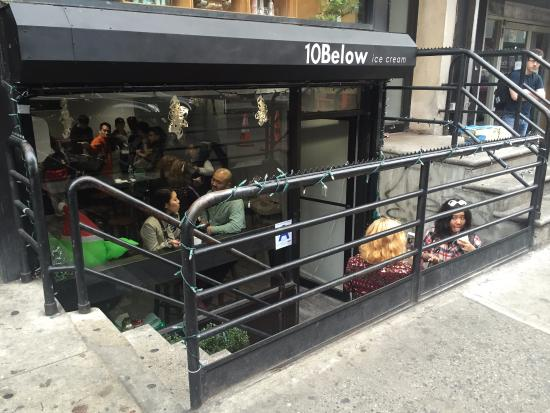 Store front - Picture of 10Below Ice Cream, New York City
