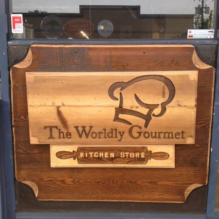 Handmade sign by Worldy Gourmet Owner - Picture of The ...
